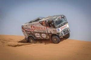 Kamion z MKR celkově vyhrává Rally OiLibya