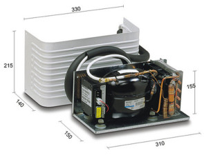 Autolednice - chladici modul - KIT MAN - Vitrifrigo