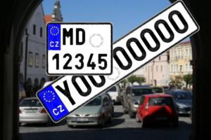 Tendr na registrační značky má vítěze (FOTO zdroj: Ministerstvo dopravy)