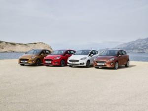 Ford Fiesta nové generace přijíždí rovnou ve čtyřech různých verzích. Je to technicky nejvyspělejší malý vůz na světě (Foto: Ford)