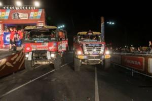 DAKAR 2017 - oba kamion z dílny MKR Technology dojely do Buenos Aires / Foto: Richard Kienberger/MKR Technology