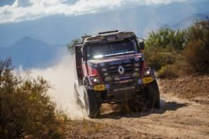 DAKAR 2017 - 10. etapa - kamion z dílny MKR Technology s mechanikem Danielem Kozlovským / Foto: Martin Kozák
