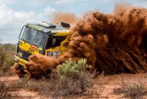 Dakar se valí do finále. Big Shock Racing velitní desítce / Foto zdroj: KM Racing