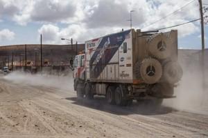 Dakar 2017 - zrušená 9. etapa - Aleš Loprais / Foto zdroj: BUGGYRA Media