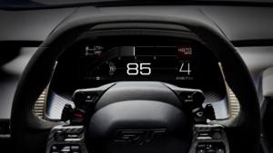 FORD GT - nový digitální přístrojový panel v režimu NORMAL / Foto zdroj: FORD MOTOR COMPANY, s.r.o.