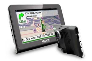 OWIRO 7.0″ GPS navigace & kamera, wifi, detektor radaru