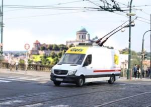 Geis testuje hybridní dodávky v Praze, další nasadí v Pardubicích, Brně a Ostravě / Foto zdroj: Geis CZ s.r.o.