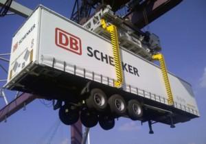 (ilustrační foto) DB Schenker staví obří ostrovní logistické centrum pro Mercedes Benz (foto z Duisburgu) / Foto zdroj: SCHENKER spol. s r. o.