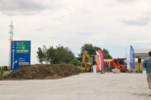 Stavba úseku z Rybí do Rychaltic rozšíří dálnici D48 o dalších 11,5 kilometru / Foto zdroj: Ministerstvo dopravy ČR