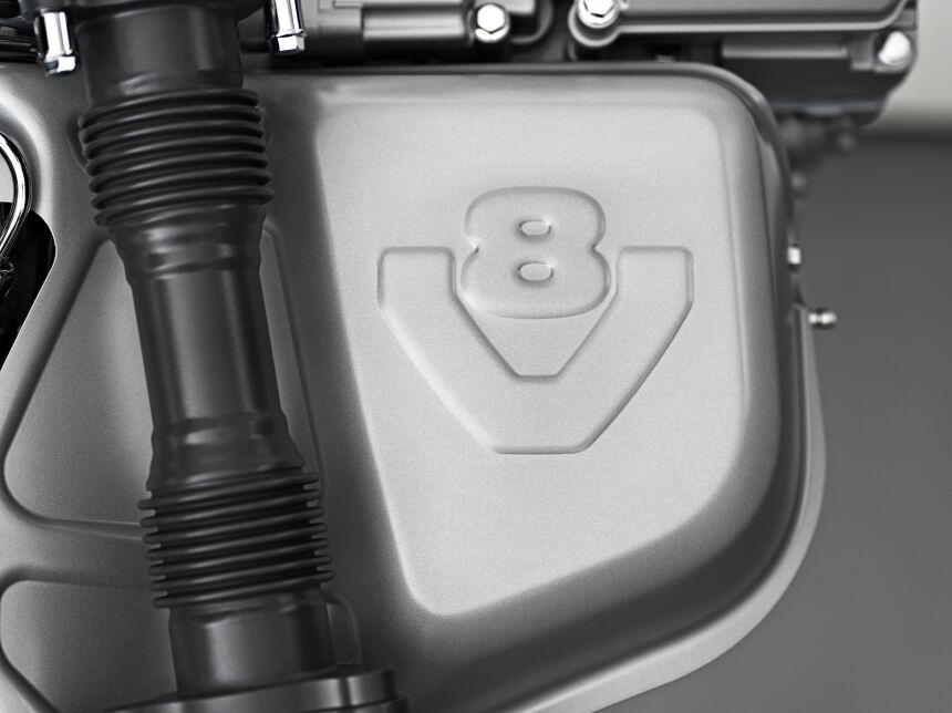 Scania V8 motor, detail / Photo: Gustav Lindh 2017 / Zdroj: Scania Czech Republic, s.r.o.