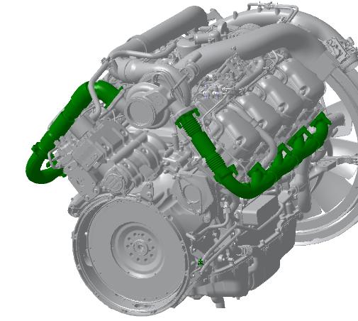 Nová generace motorů V8 od společnosti Scania – použitá technologie znamená velký krok vpřed / Foto zdroj: Scania Czech Republic, s.r.o.
