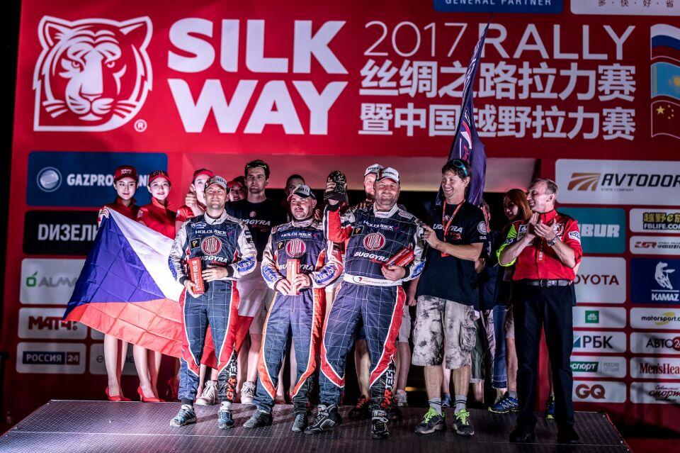 Silk Way Rally 2017: Dobrá věc se podařila / Foto zdroj: BUGGYRA media