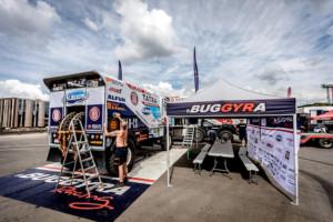 """Tatra Buggyra Racing hlásí z Moskvy stav plné """"bojové"""" připravenosti / Foto zdroj: BUGGYRA media"""