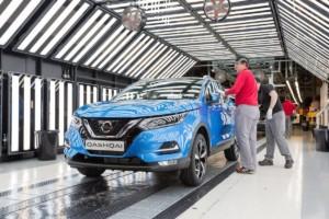 Výroba nového Nissanu Qashqai v Evropě zahájena / Foto zdroj: NISSAN