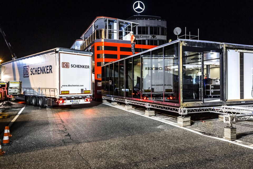 DB Schenker přiveze na Hungaroring tým Mercedes-AMG Petronas Motosport / Foto zdroj: DB Schenker