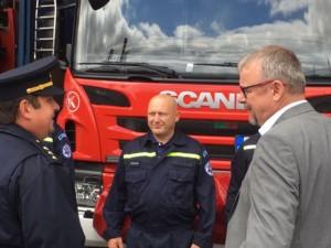 Drážní hasiči v Chebu mají naději na novou budovu, město nabídlo k využití svůj pozemek / Foto zdroj: ministerstvo dopravy ČR