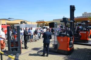 Linde Material Handling představila na Dnech pro bezpečnost a efektivitu nejmodernější technologie / Foto zdroj: Linde Material Handling Česká republika s.r.o.
