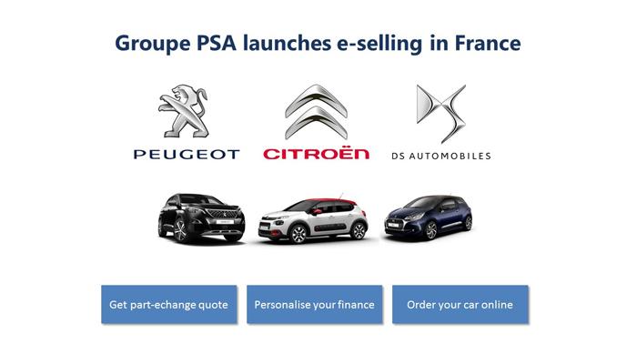 Skupina PSA, první evropská automobilka, která ve Francii spustila prodej nových vozů přes internet / Foto zdroj: P Automobil Import s.r.o.