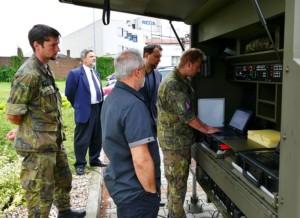 Pardubická společnost RETIA dodala Armádě České republiky již šestý radar ReVISOR / Foo zdroj: mediální zastoupení RETIA a.s.