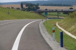 Řidiči mohou nově jezdit po silnici I/34 Božejov – Ondřejov – Pelhřimov / Foto zdroj: Ministerstvo dopravy ČR