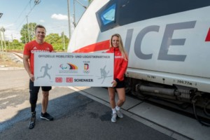Lisa Zimmermannova a Markus Rehm / Foto zdroj: DB SCHENKER