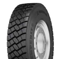 Novinka v produktové řadě Semperit: pneumatika WORKER D2 – 315/80 R 22.5 – na staveništi téměř nezničitelná / Foto zdroj: Continental Barum s.r.o.