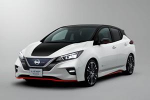 Nissan představuje na autosalonu v Tokiu koncept LEAF NISMO / Foto zdroj: NISSAN