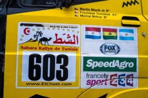Martin Macík si veze zlato a mozoly ze saharské Rally EL Chott / Foto zdroj: Big Shock Racing