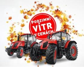 Podzimní slevy na traktory Zetor / Foto zdroj: ZETOR TRACTORS a.s.