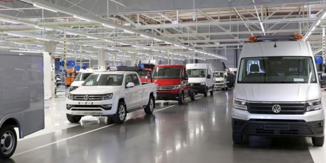 Volkswagen Užitkové vozy dodal do konce října 410 900 vozidel / Foto zdroj: Porsche Česká republika s.r.o. Divize Volkswagen Užitkové vozy,