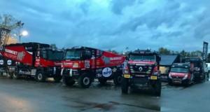 MKR Technology představuje 3 kamiony pro Dakar 2018 / Foto zdroj: