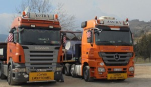 Výsledky práce pobočky AsstrA Heavy Lift / Foto zdroj: AsstrA Associated Traffic AG