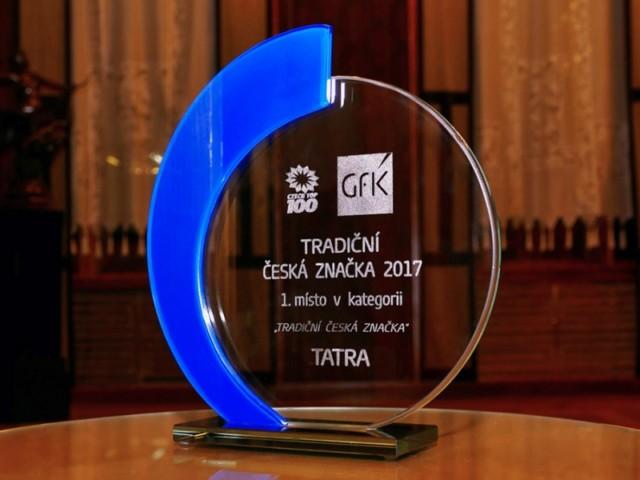Kopřivnická společnost TATRA TRUCKS získala prestižní ocenění Tradiční česká značka 2017 / Foto zdroj: TATRA TRUCKS a.s.
