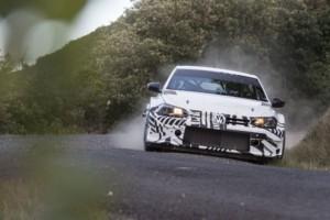 Volkswagen Polo GTI R5 má za sebou úspěšný debut v rámci testovacích jízd / Foto zdroj: Porsche Česká republika s.r.o.