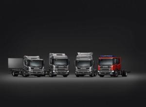 Scania L 280 4x2, Scania P 280 4x2, Scania L 320 6x4, Scania P 320 4x2 / Foto zdroj: Scania Czech Republic s.r.o.