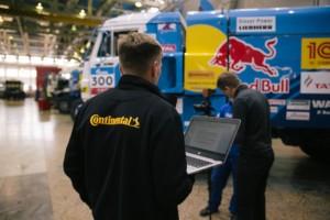 Rozšiřování spolupráce mezi společností Continental a týmem KAMAZ-master. / Foto zdroj: Continental