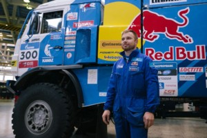 Eduard Nikolayev, rallye řidič týmu KAMAZ-master / Foto zdroj: Continental
