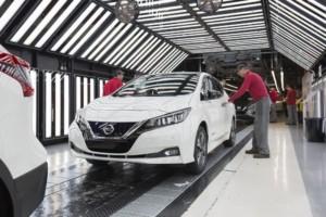Zahájení výroby nového Nissanu LEAF v Evropě / Foto zdroj: NISSAN