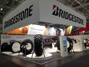 Bridgestone na veletrhu Agritechnica 2017 / Foto zdroj: Bridgestone CR, s.r.o.