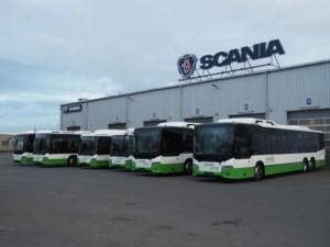 Scania předala 6 CNG autobusů ČSAD Havířov a Karviná / Foto zdroj: Scania Czech Republic s.r.o