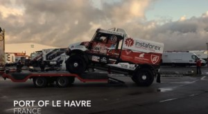 InstaForex Loprais Team před Dakarem / Foto zdroj: LopraisTeam