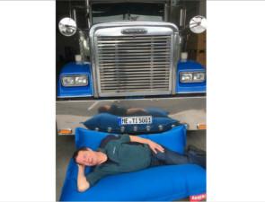 Týdenní doba odpočinku v nákladním voze: Tipy při kontrolách / Foto zdroj: TimoCom