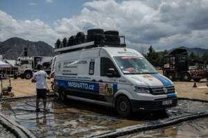 Nový Crafter 4Motion absolvoval Rallye Dakar 2018 bez ztráty květinky / Foto zdroj: Porsche Česká republika s.r.o. Divize Volkswagen Užitkové vozy