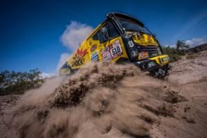 Macík stále nejlepším Čechem vpoli kamionů. Díky výkonům na hranici možností / Foto zdroj: Big Shock Racing