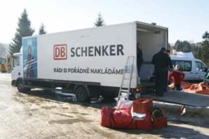DB Schenker již zaváží materiál na Jizerskou 50 / Foto zdroj: DB Schenker