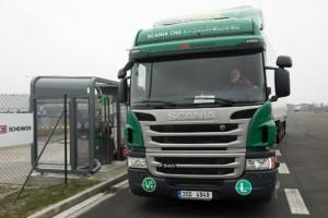 DB Schenker do své flotily zařadil kamiony na CNG / Foto zdroj: DB Schenker