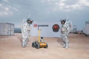 DB Schenker a Rakouské vesmírné fórum uskutečnili misi AMADEE-18. V ománské poušti zřídili simulaci Marsu / Foto zdroj: DB Schenker