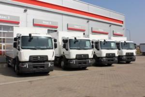První modely Renault Trucks D WIDE 18 CNG provozuje společnost Hrubý autodoprava s.r.o. / Foto zdroj: Volvo Group Czech Republic, s.r.o.
