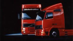 Volvo FH – první volba řidičů už po čtvrt století (na fotce: Volvo FH (1993) / Foto zdroj: Volvo Group Czech Republic, s.r.o.