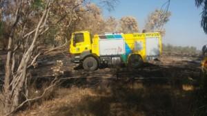Tatra pomáhá při hašení požárů v Izraeli / Foto zdroj: TATRA TRUCKS a.s.
